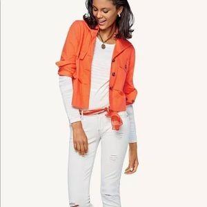 CAbi Resort Jacket Tiger Lily Orange 5098